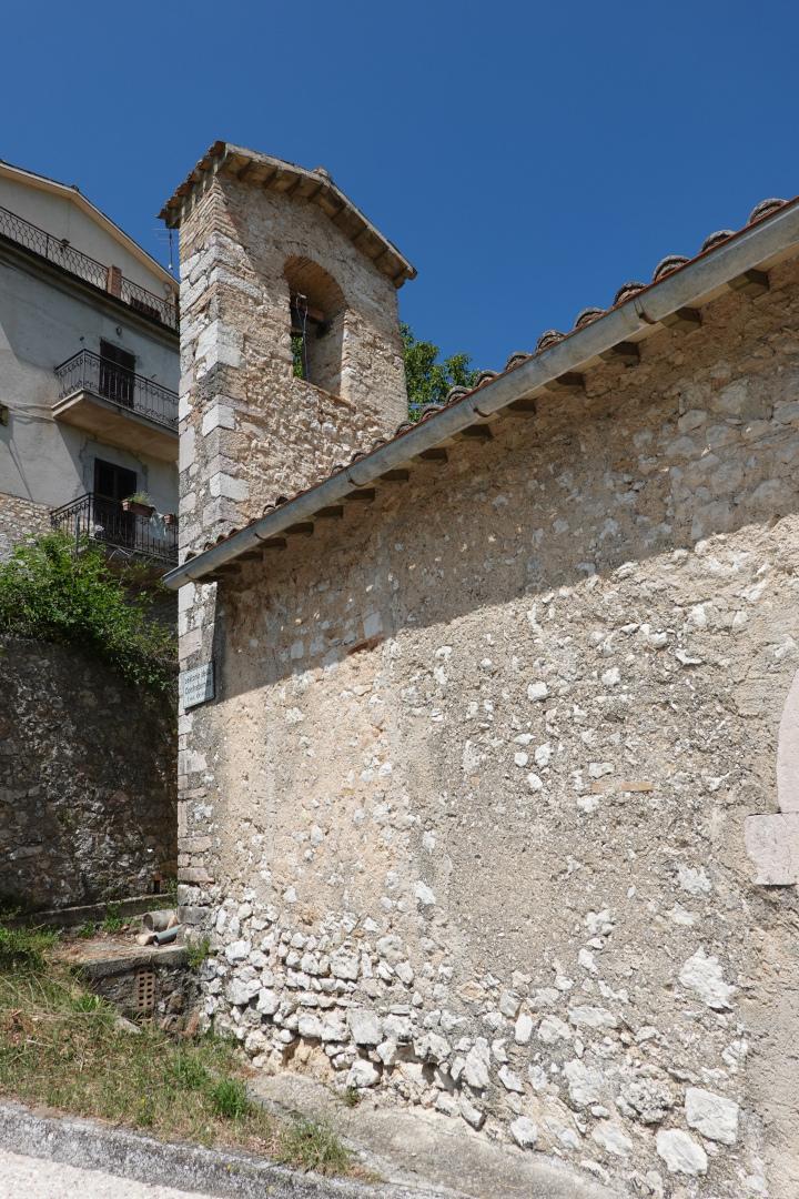 Chiesa dell'Addolorata - campanile - Grotti