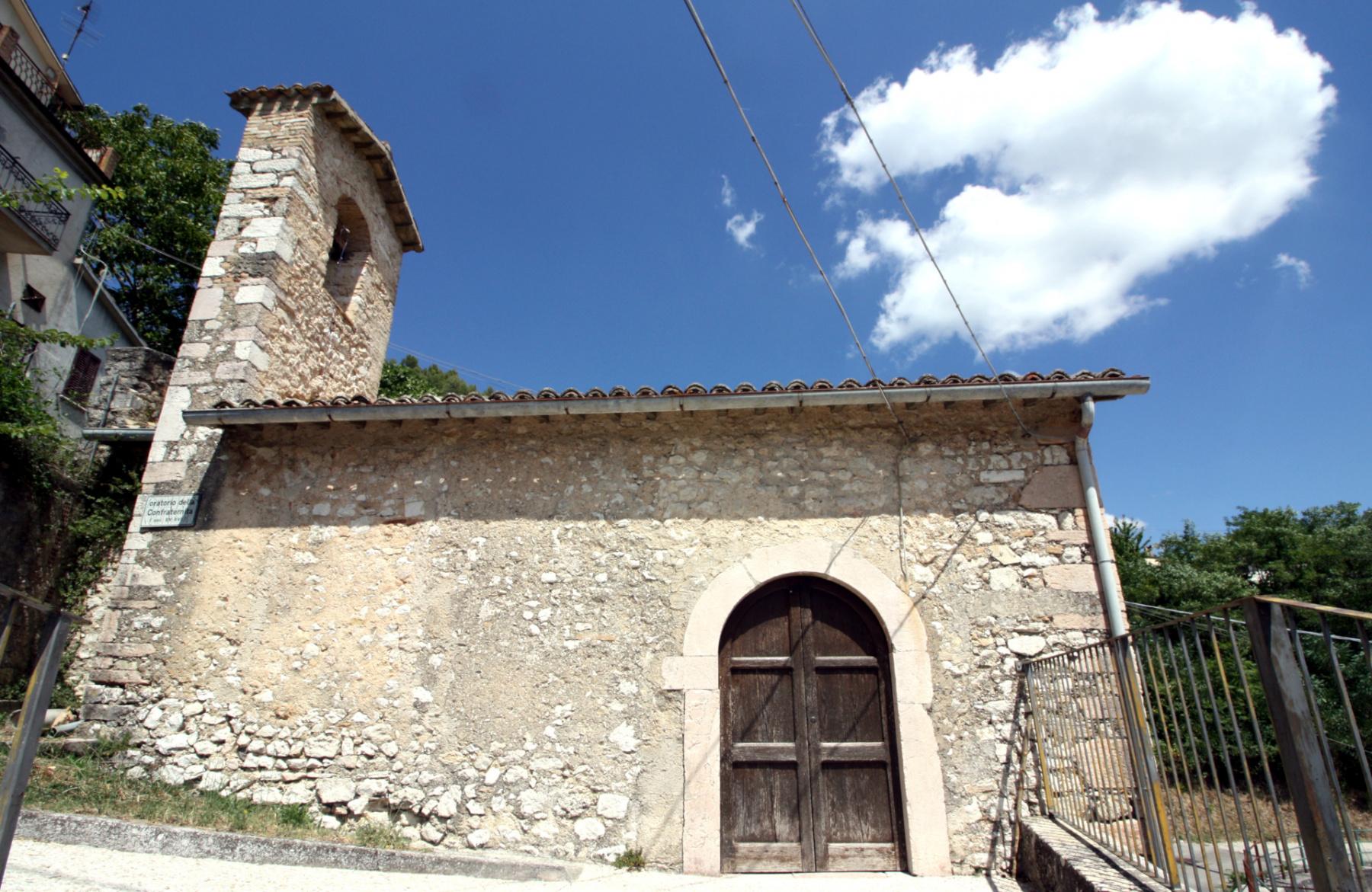 Chiesa dell'Addolorata - esterno - Grotti