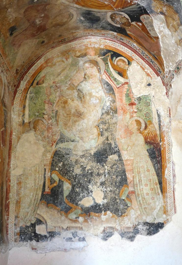 Chiesa dell'Addolorata - antica edicola - Grotti