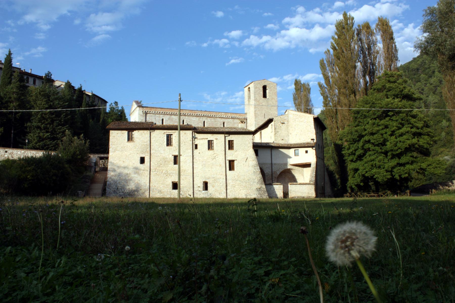 Chiesa di San Felice di Narco - locali abbaziali - Castel San Felice