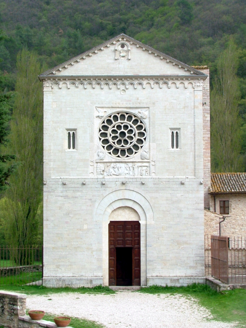 Chiesa di San Felice di Narco - facciata  Castel San Felice