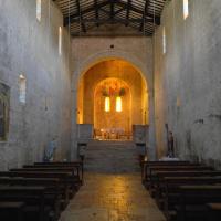 Chiesa di San Felice di Narco - interno - Castel San Felice