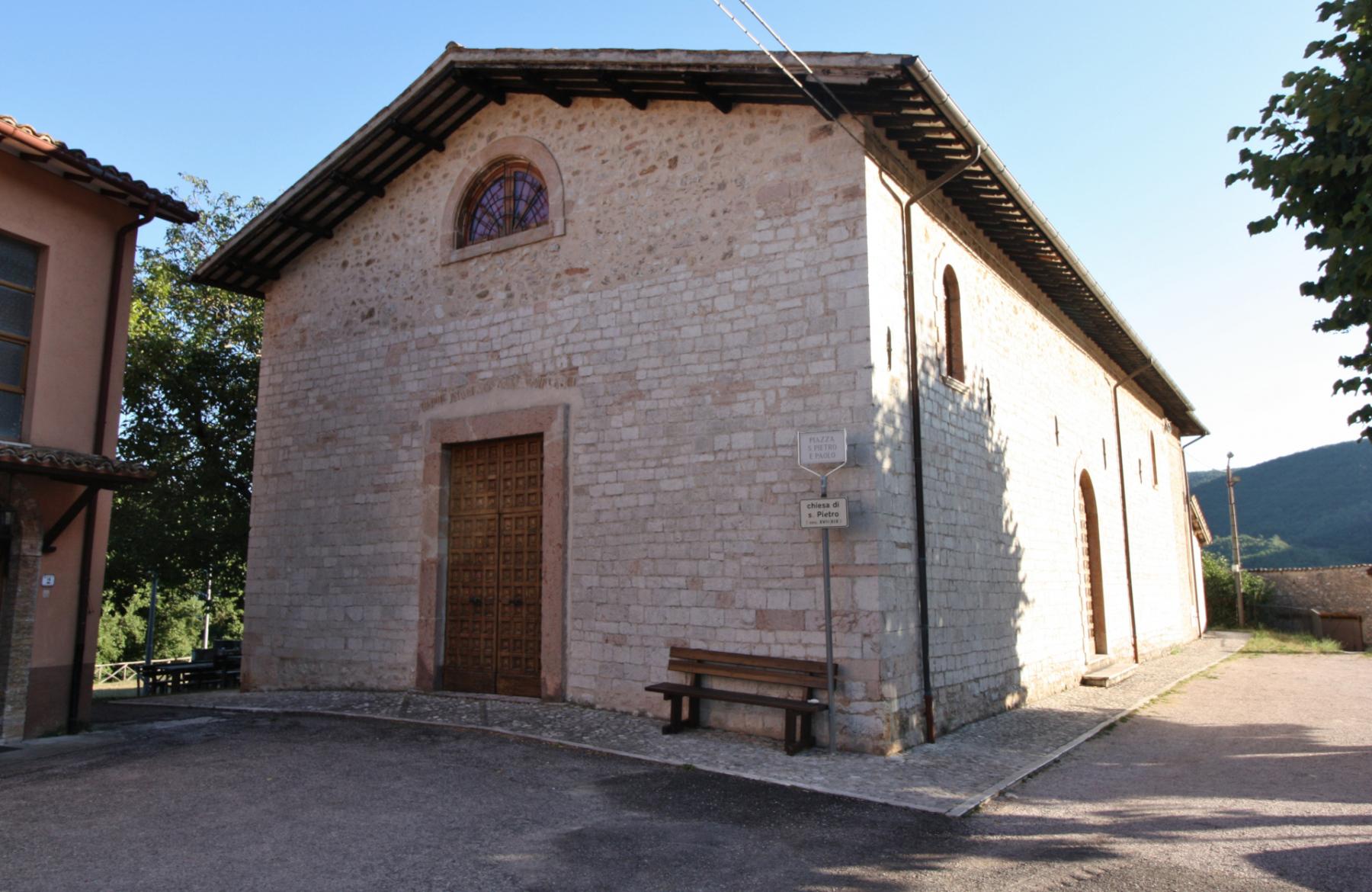 Chiesa di San Pietro - esterno - Grotti