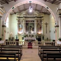 Chiesa di San Pietro - interno - Grotti