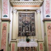 Chiesa di San Pietro - altare Madonna del Rosario - Grotti