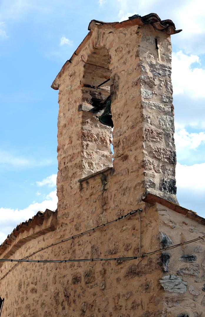 Chiesa di San Sebastiano - campanile - Castel San Felice