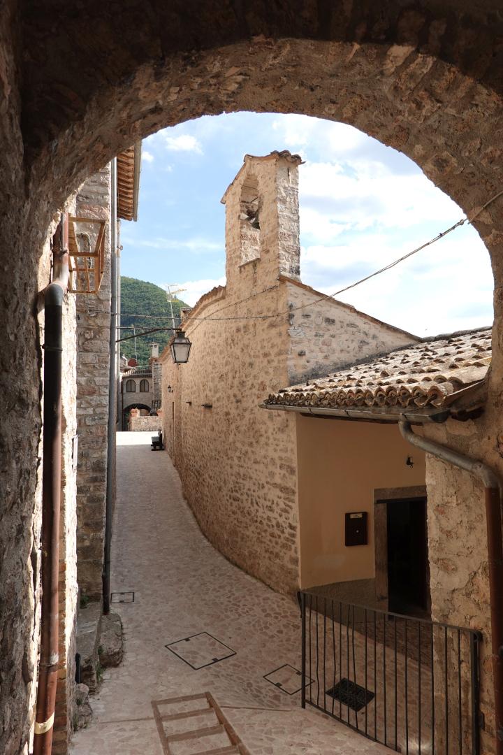 Chiesa di San Sebastiano - esterno - Castel San Felice