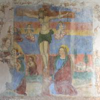 Chiesa di San Sebastiano - crocifissione - Castel San Felice