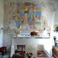 Chiesa di San Sebastiano - affreschi - Castel San Felice