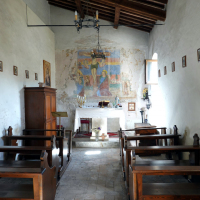 Chiesa di San Sebastiano - interno - Castel San Felice