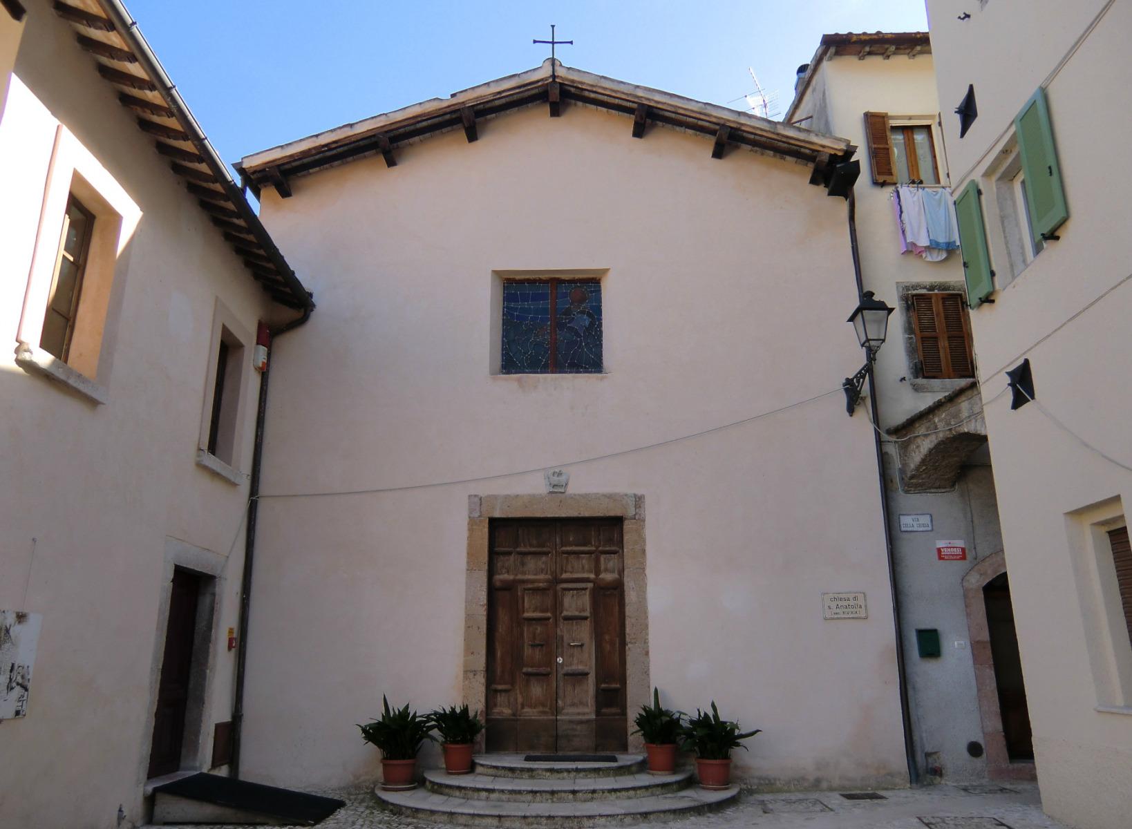 Chiesa di Sant'Anatolia - esterno -Sant'Anatolia di Narco