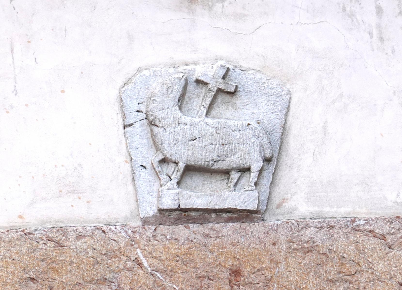 Chiesa di Sant'Anatolia - Agnello crucifero - Sant'Anatolia di Narco