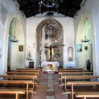 Chiesa di Sant'Anatolia - interno - Sant'Anatolia di Narco
