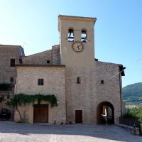 Chiesa di Sant'Anatolia - torre campanaria - Sant'Anatolia di Narco