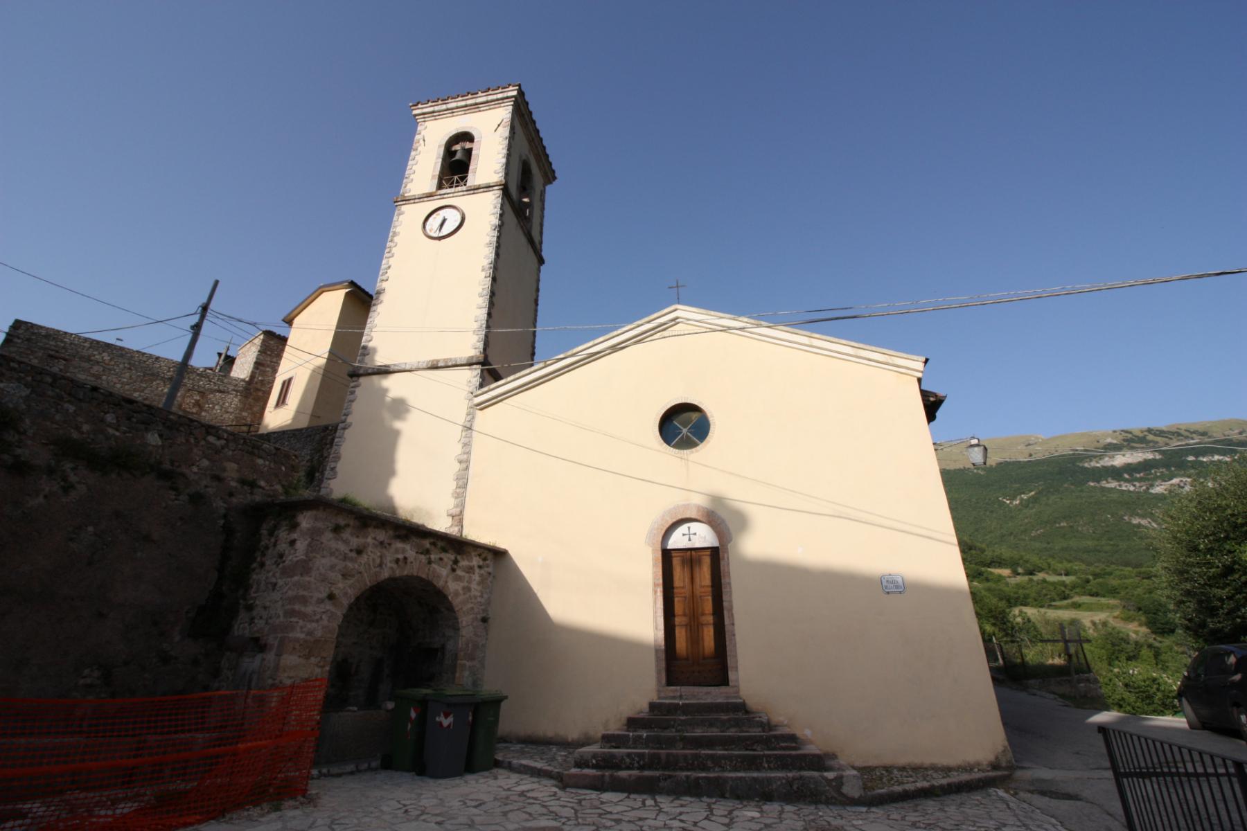 Chiesa di Santa Maria Assunta - esterno -  Caso