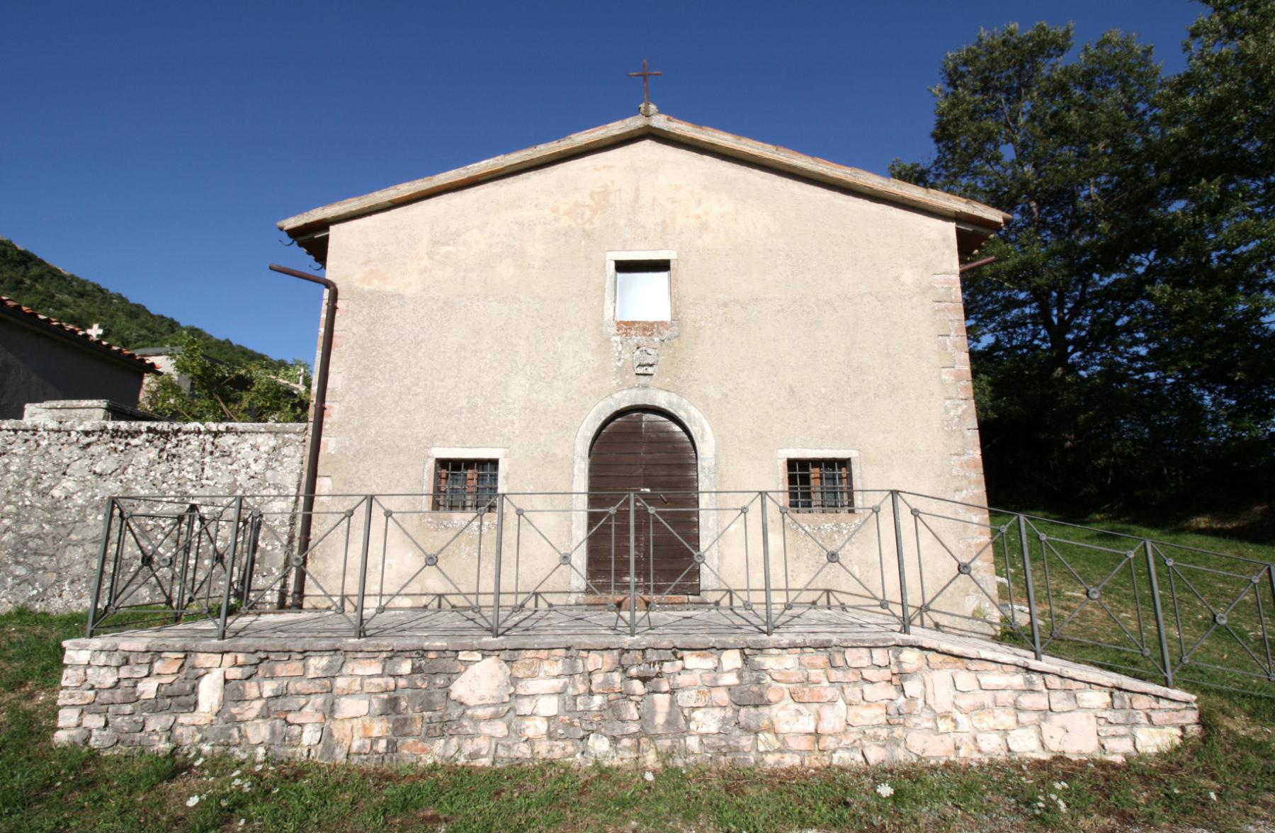 Chiesa di Santa Maria o Madonna dell'Immagine - esterno - Gavelli