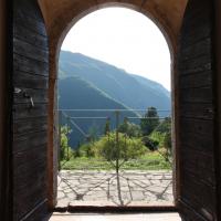 Chiesa di Santa Maria o Madonna dell'Immagine - porta - Gavelli