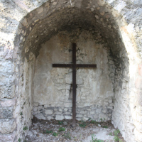Edicola della Santa Croce - immagine devozionale - Caso