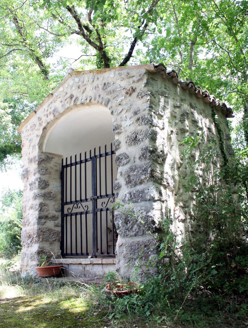 Edicola della Madonnuccia - esrterno - Grotti