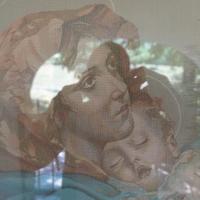 Edicola della Madonnuccia - immagine votiva - Grotti