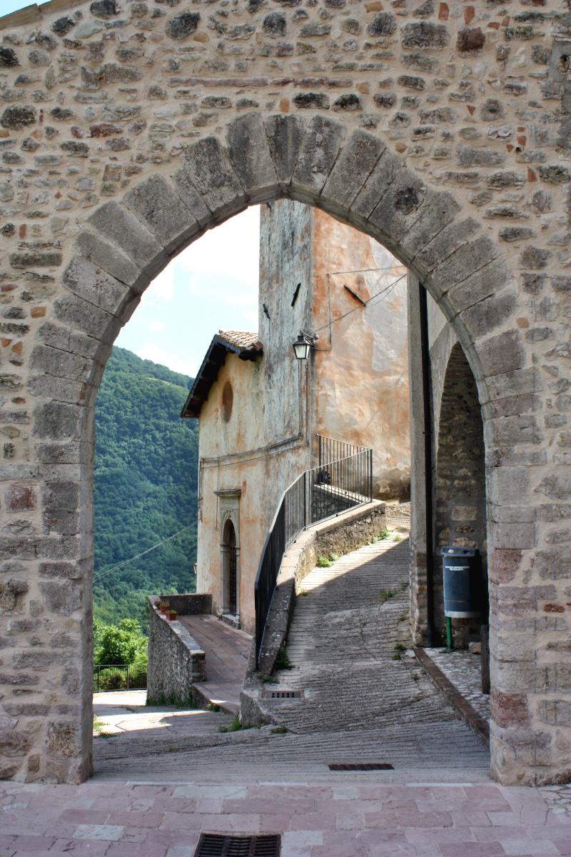 Porta del castello - Gavelli