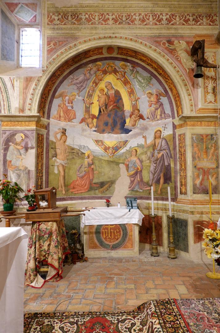 Nicchia di Santa Caterina - Chiesa di San Michele Arcangelo - Gavelli
