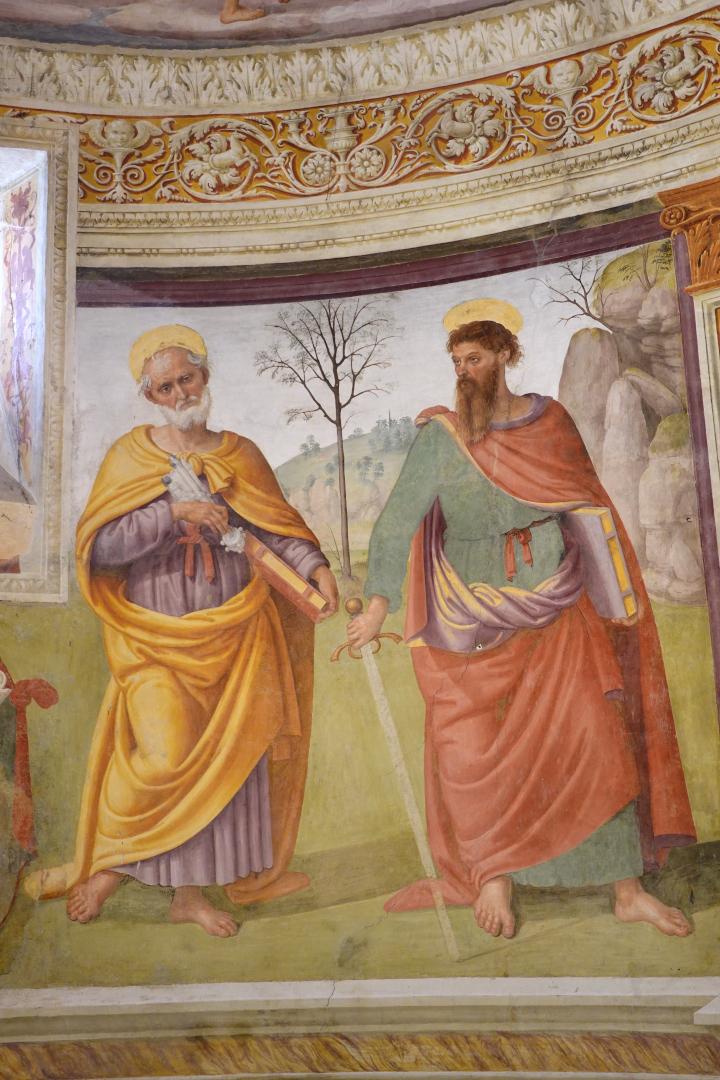 Abside - Santi Pietro e Paolo - Chiesa di San Michele Arcangelo - Gavelli