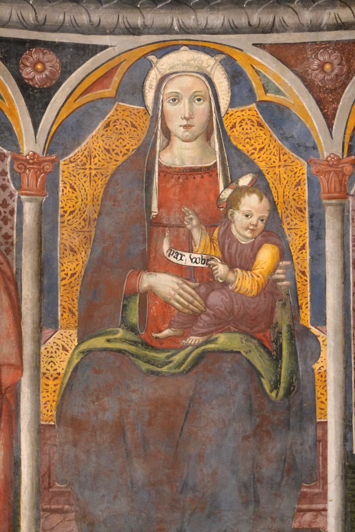 Madonna con bambino - Chiesa di San Michele Arcangelo - Gavelli