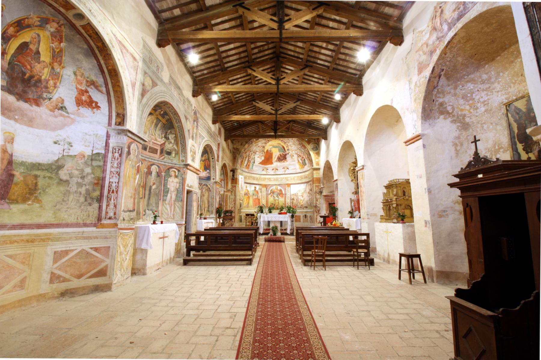 Chiesa di San Michele Arcangelo - interno - Gavelli