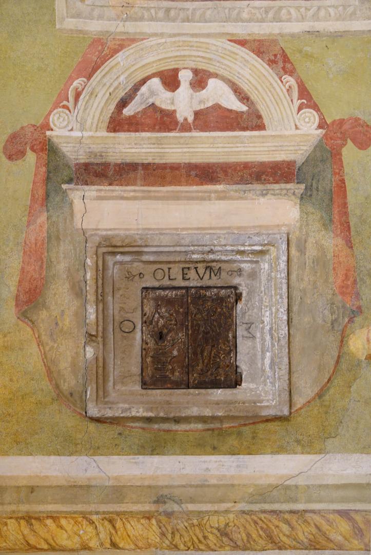 Tabernacolo degli oli santi - Chiesa di San Michele Arcangelo - Gavelli