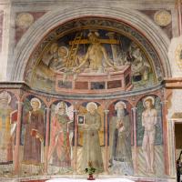 Nicchia di San Bernardino - Chiesa di San Michele Arcangelo - Gavelli