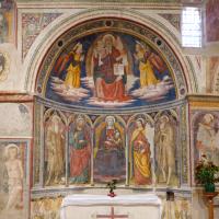 Nicchia dei santi Macario e Bordone - Chiesa di San Michele Arcangelo - Gavelli