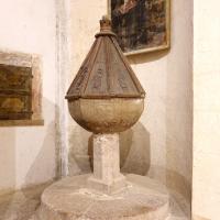 Fonte battesimale - Chiesa di San Michele Arcangelo - Gavelli