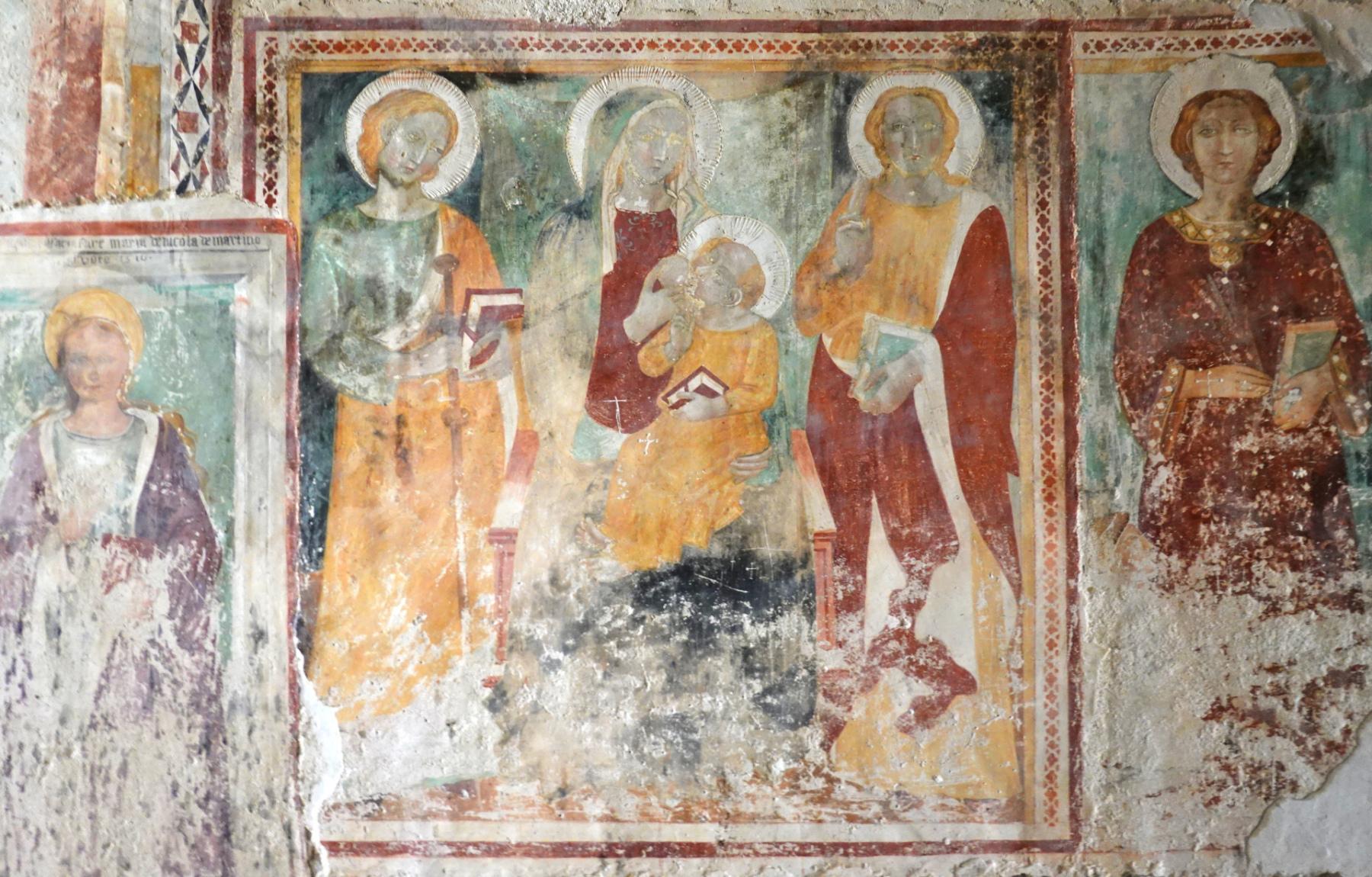 Chiesa di Santa Cristina - Madonna con Bambino e Santi - Caso