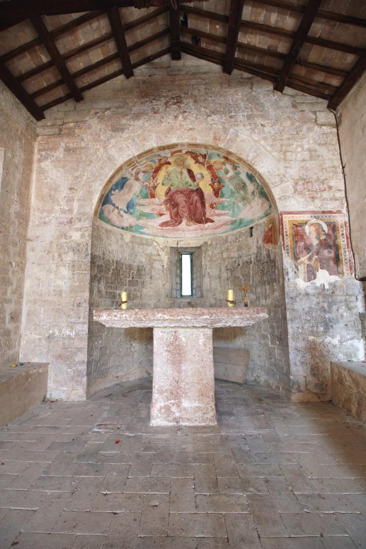Chiesa di Santa Cristina - abside - Caso