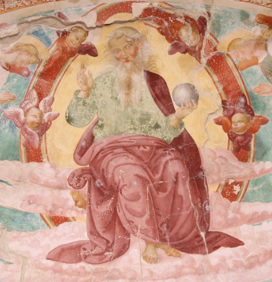Chiesa di Santa Cristina - Eterno Padre - Caso