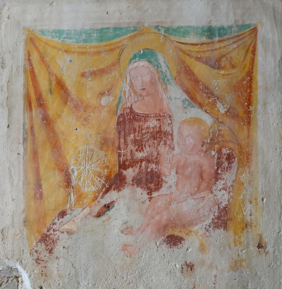 Chiesa di Santa Cristina - Madonna con Bambino - Caso