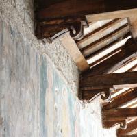 Chiesa di Santa Cristina - travature - Caso
