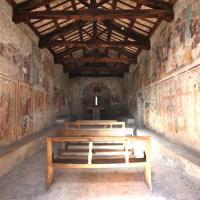 Chiesa di Santa Cristina - interno - Caso