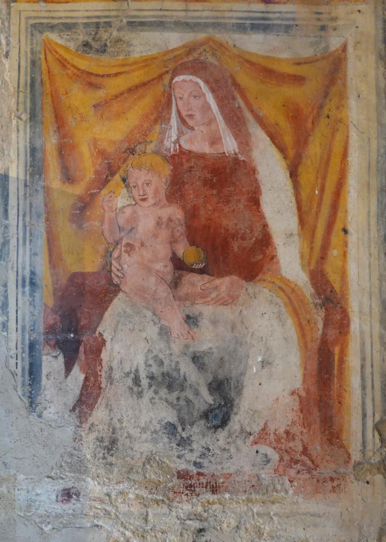 Chiesa di Santa Maria delle Grazie - Madonna con Bambino - Caso