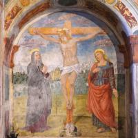 Chiesa di Santa Maria delle Grazie - nicchia con crocifissione - Caso
