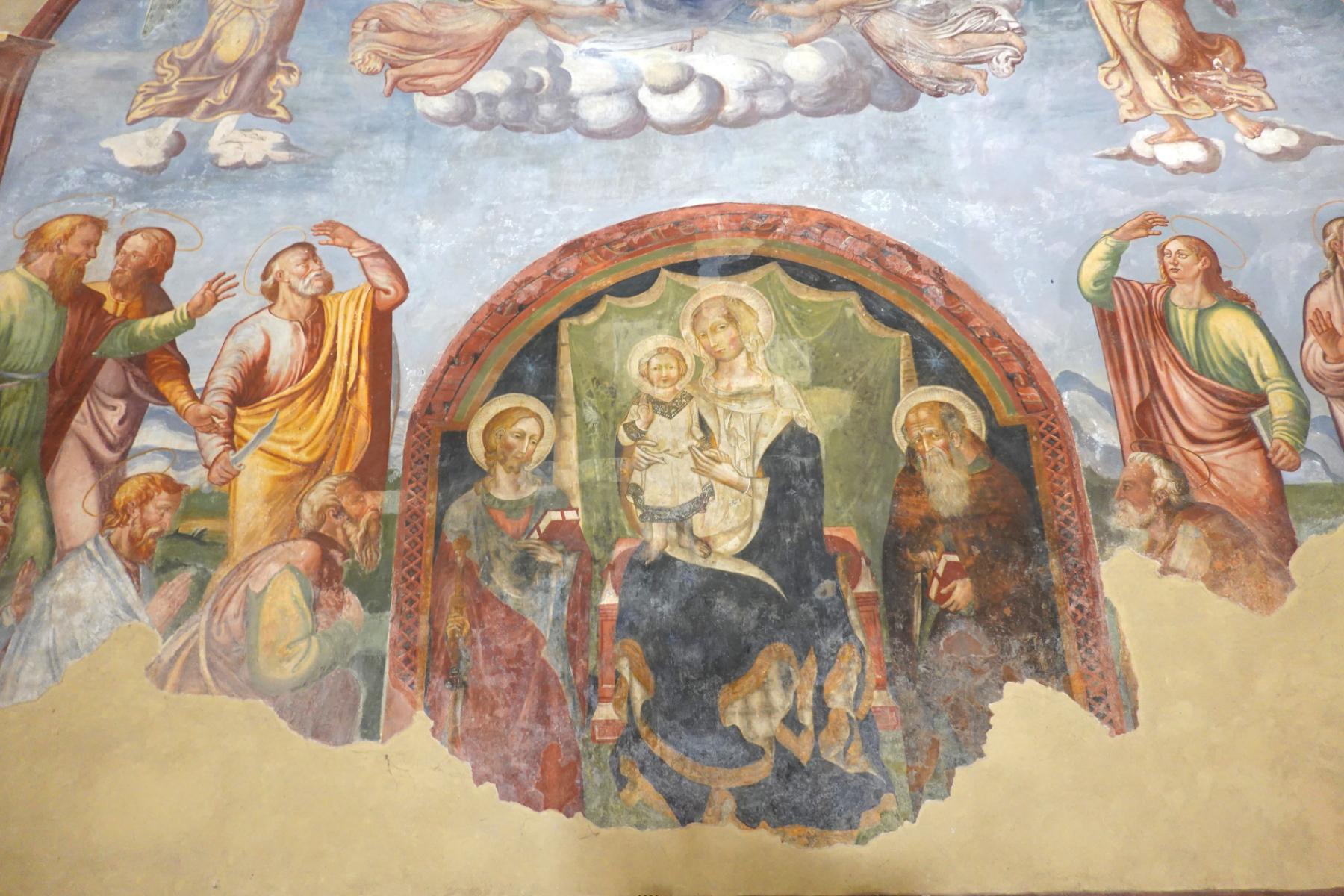 Chiesa di Santa Maria delle Grazie - antica nicchia -  Sant'Anatolia di Narco