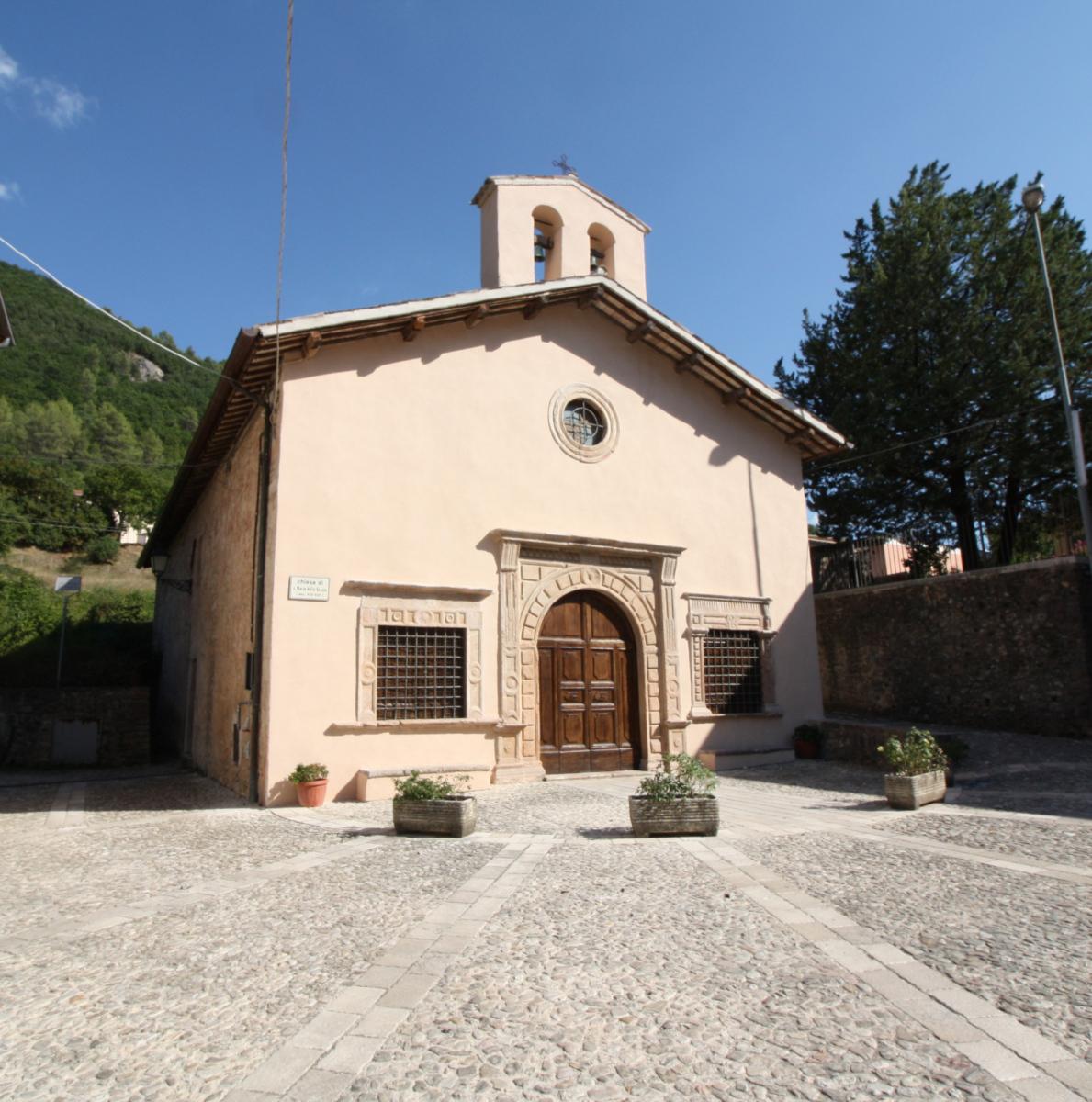 Chiesa di Santa Maria delle Grazie - esterno -Sant'Anatolia di Narco