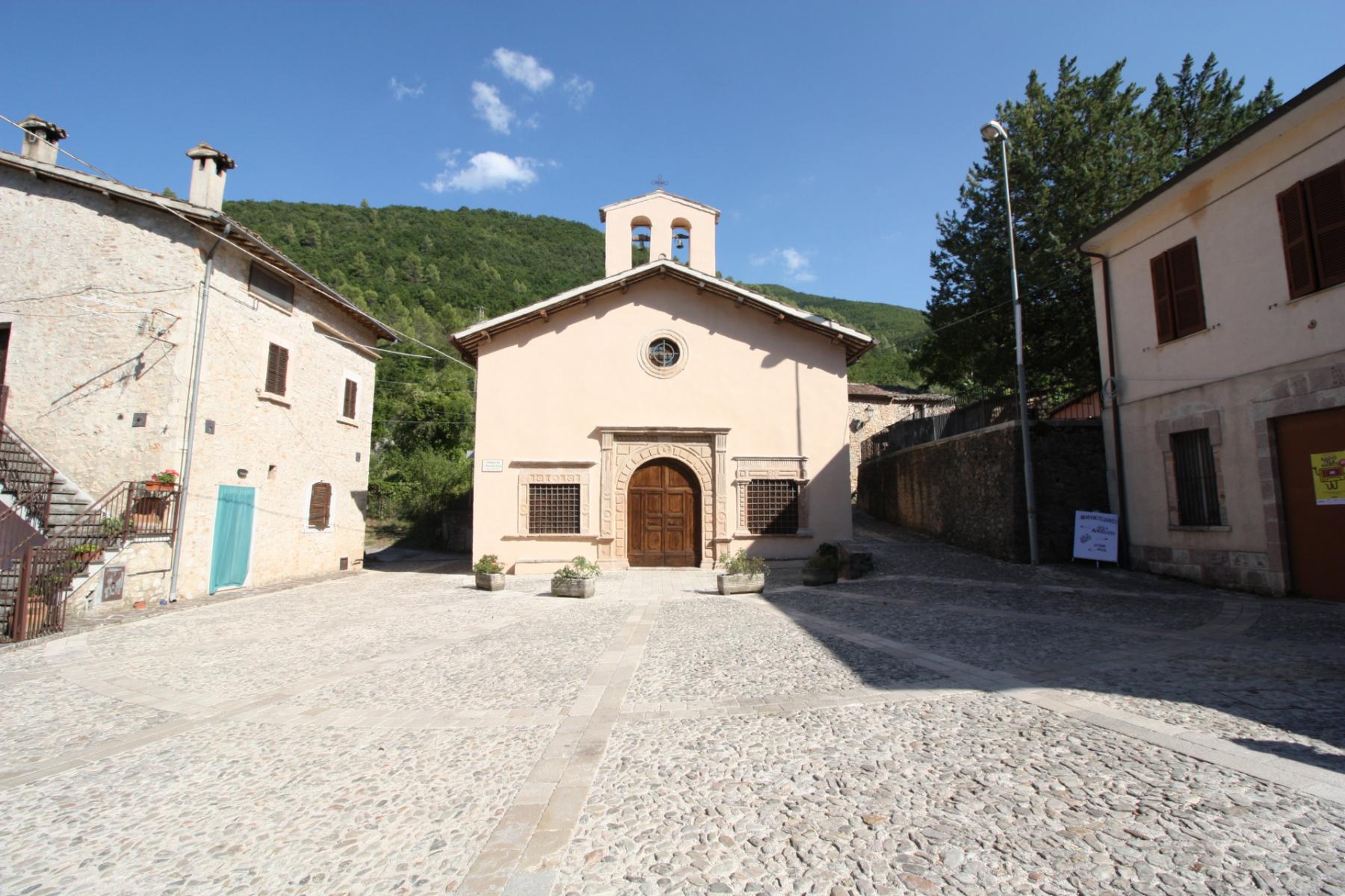 Chiesa di Santa Maria delle Grazie - esterno - Sant'Anatolia di Narco