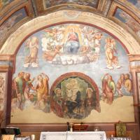 Chiesa di Santa Maria delle Grazie - affresco di fondo - Sant'Anatolia di Narco