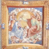 Chiesa di Santa Maria delle Grazie - volta, Incoronazione di Maria - Sant'Anatolia di Narco